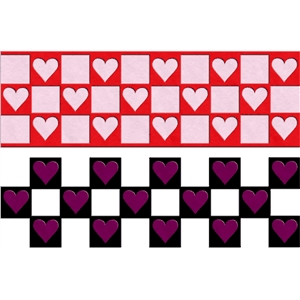 heart checkerboard