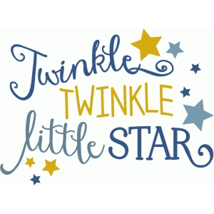 twinkle twinkle little star phrase