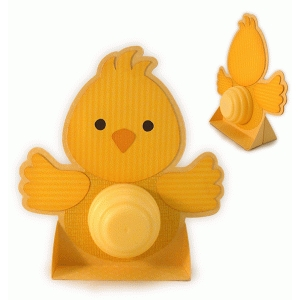 chick lip balm standing card