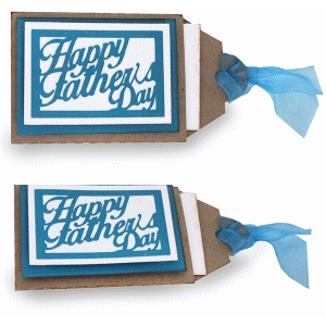 happy father's day gift card tag