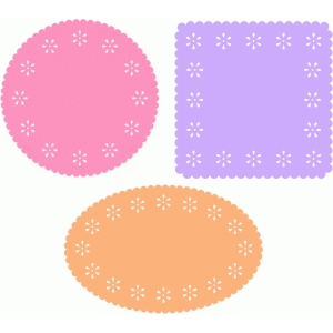 flower labels set