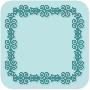 victorian lace frame 2