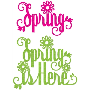 'spring' word titles