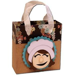girl pilgrim fold over bag