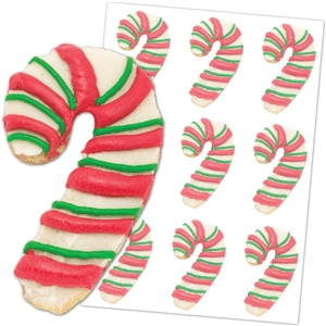 'candy cane' cookies