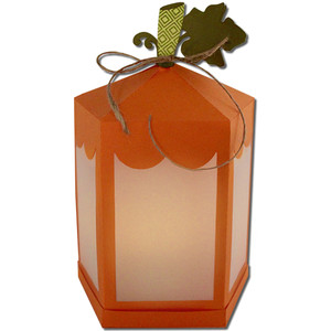 pumpkin lantern (flameless)