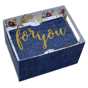 for you gift card crate