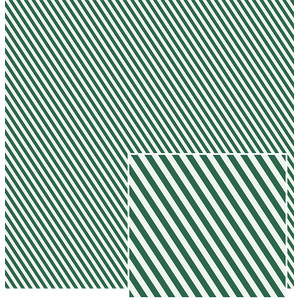 two greens striped pattern