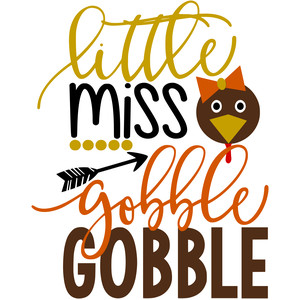 little miss gobble gobble