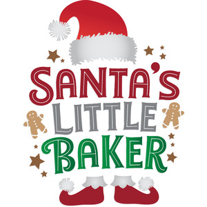 santa's little baker