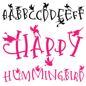 pn happy hummingbird