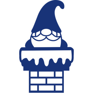 gnome in the chimney