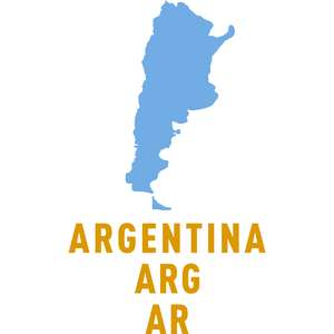 argentina country outline