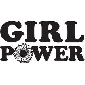 girl power sunflower