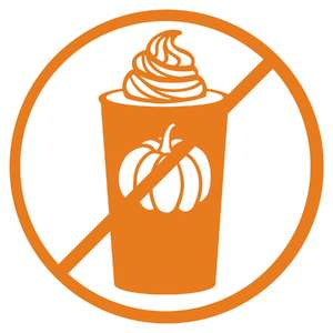 no pumpkin spice allowed