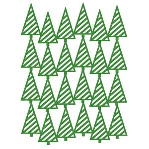 christmas trees striped