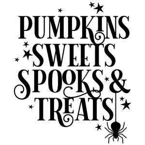 pumpkin sweets spooks & treats