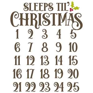 sleeps til' christmas