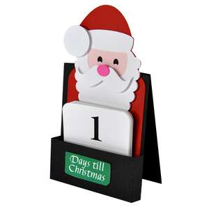 happy santa advent calendar