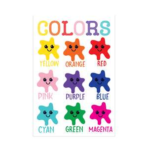 color chart for kids