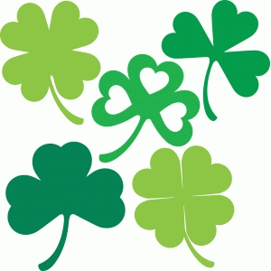 5 clover shamrocks