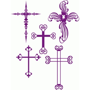 flourish crosses