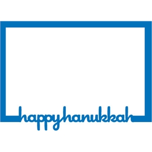 frame: Happy Hanukkah