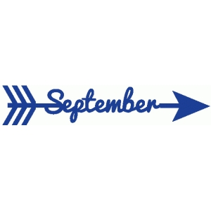 september word arrow