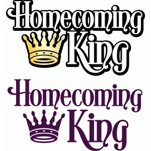 homecoming titles - king