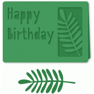 happy birthday plant card