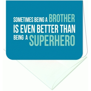 sometimes being a brother a2 card