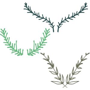 foliage antlers