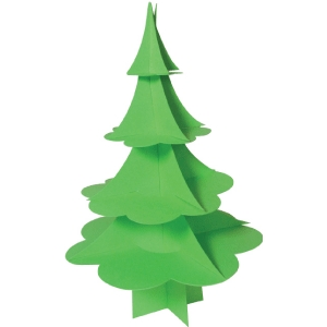 christmas tree 3d scalloped