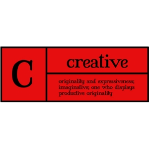 c is for creative