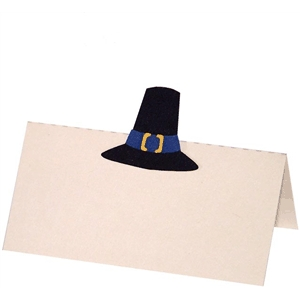 pilgrim hat place card