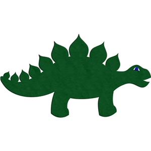 simple stegosaurus