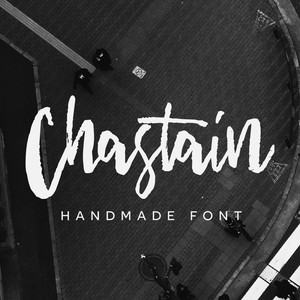 chastain font
