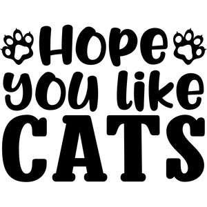 hope you like cats