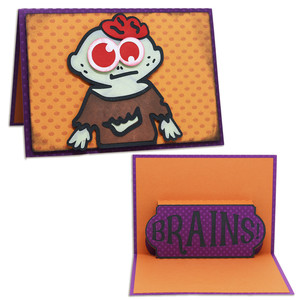a2 pop-up zombie card
