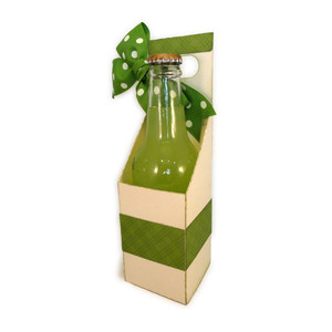 pop bottle single 3d gift tote