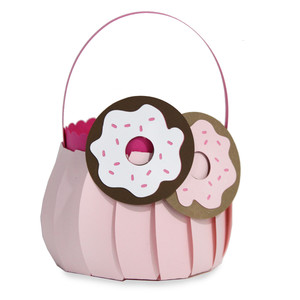 cute donut basket