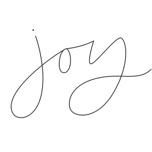 sketch handwritten joy word