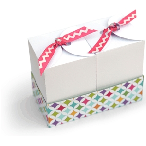 3d set of 2 gift boxes