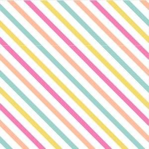 easter multi stripe pattern