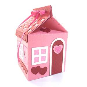 3d candy carton cottage