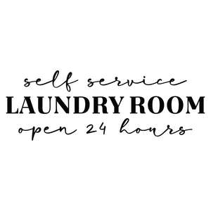 self service laundry room open 24 hours