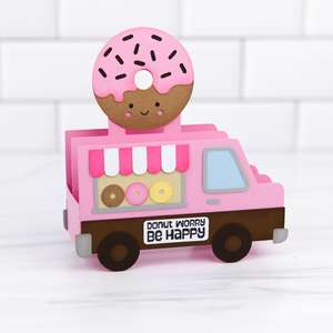 5x7 box card donut truck
