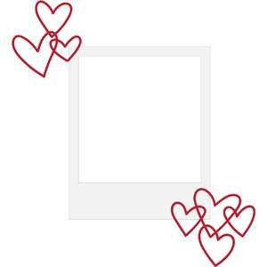 heart surround frame