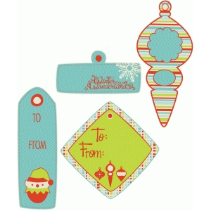 pnc christmas gift tags set