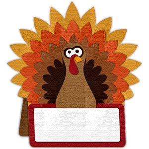 turkey placecard